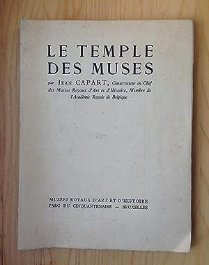 Le temple des Muses: Capart, Jean