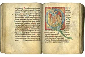 Psalter; illuminated medieval manuscript on parchment