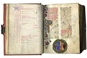 BREVIARY (Use of Rome); Illuminated liturgical manuscript in Latin