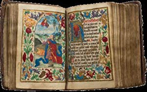 BOOK OF HOURS (USE OF GEERT GROTE); Illuminated manuscript on parchment, in Dutch