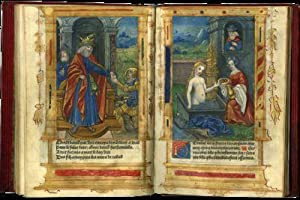 PRINTED BOOK OF HOURS (USE OF ROME); illuminated imprint on parchment, in Latin and French