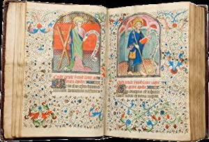 HOURS OF PHILIPPOTE DE NANTERRE (USE OF AMIENS); illuminated manuscript on parchment, in Latin an...