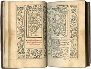 PRINTED BOOK OF HOURS (USE OF ROME) PRINTED BOOK OF HOURS (USE OF ROME); printed on paper, in Lat...