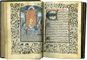 BOOK OF HOURS (USE OF ROME); illuminated: BOOK OF HOURS