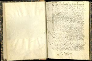 JEAN BODIN, C'est la declarac[i]on des choses heritaulx (Declaration of feudal holdings, or ?aveu...
