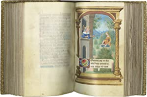 BOOK OF HOURS (USE OF ROME); illuminated manuscript on parchment in Latin with some French