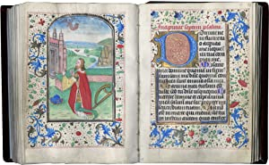 BOOK OF HOURS (USE OF ROME?); illuminated manuscript on parchment in Latin