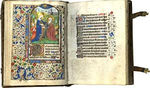 BOOK OF HOURS (Use of Rouen); illuminated manuscript on parchment in Latin and French