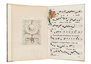 Choir Book with Selected Texts for the Mass and Office; in Latin with some Italian, illuminated s...