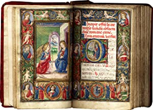 Book of Hours (Use of Rome); in Latin, illuminated manuscript on parchment