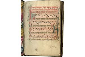 Processional (Dominican Use); in Latin, illuminated music manuscript on parchment