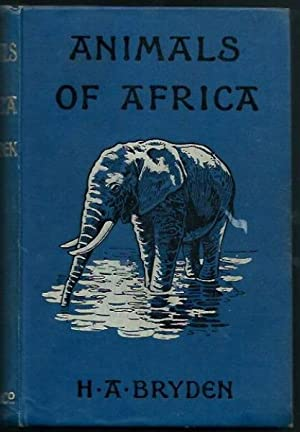 Animals of Africa. Illustrated by E. Caldwell (Second Impression)