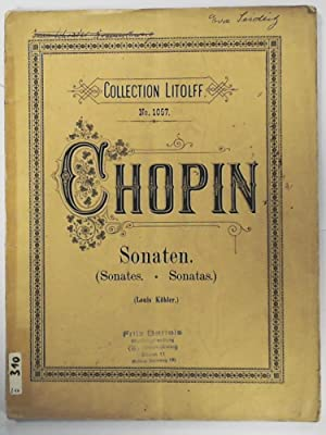 Collection Litolff No. 1057: Chopin - Sonaten