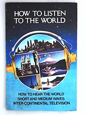 How to Listen to the World 1969/70