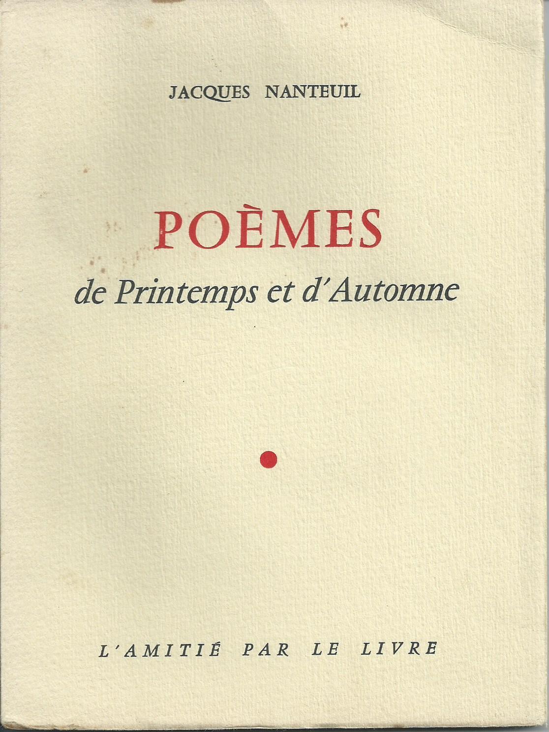 Poèmes De Printemps Et Dautomne