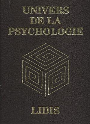 Univers de la psychologie : plaquette-spécimen de: PÉLICIER, Yves (sous