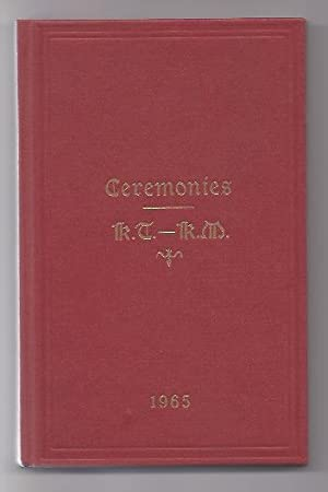The Ceremonies of the United Religious and: Freemasons