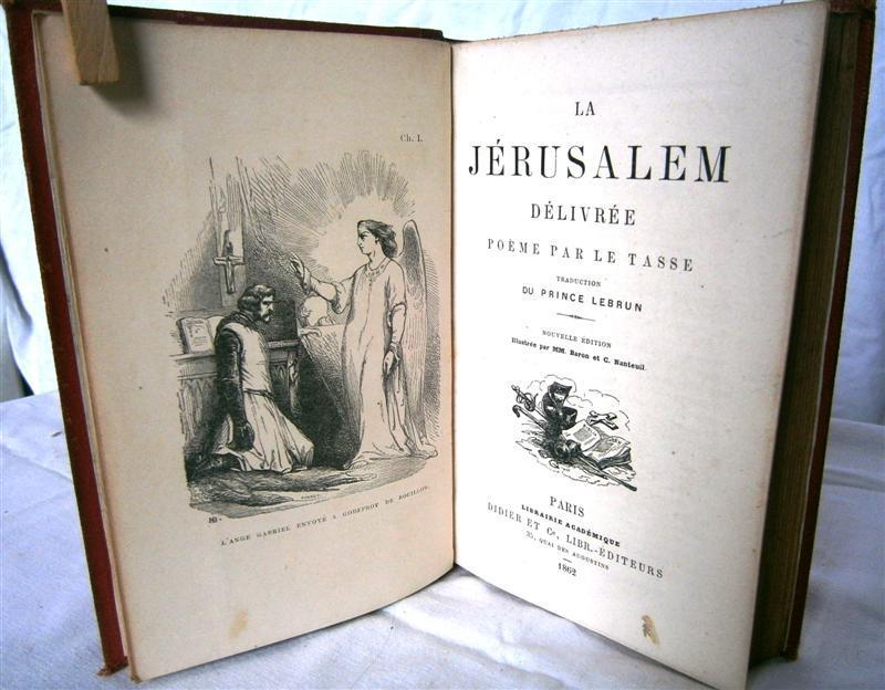 La Jérusalem Délivrée Poème Par Le Tasse