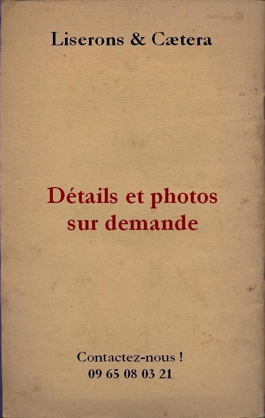 La Princesse de Clèves. Aquarelles de Janserge. Editions Nilsson. La bibliothèque précieuse. Vers 1930. (Littérature) - Editions Nilsson.