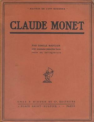 maitres de lart moderne claude monet