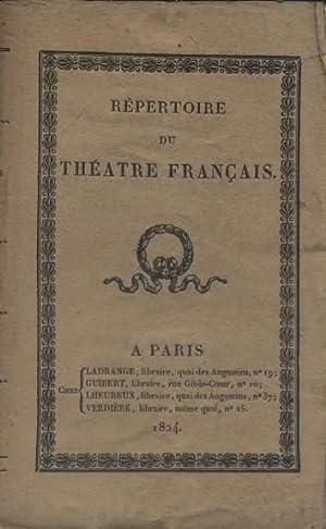Chefs d'oeuvres dramatiques. 4 pièces.: BOISSY