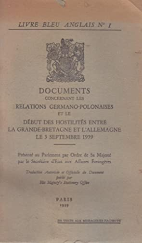 Le Livre Bleu Anglais Abebooks