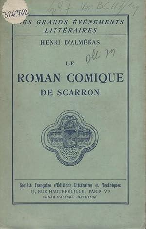 Le roman comique de Scarron.: ALMERAS Henri d'
