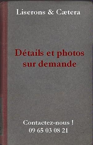Poésies. Vers 1930.: VILLON François -