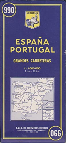 Carte Michelin Espagne Portugal.Portugal Not Print On Demand Or Printed On Demand