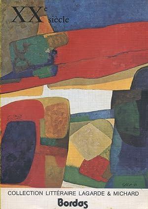 XXe siècle.: LAGARDE André -