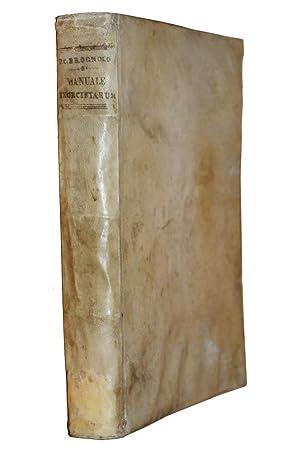 Manuale exorcistarum ac parochorum, hoc est tractatus: BROGNOLO