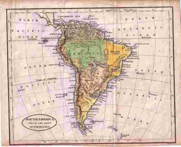 Map: South America from the best authorities   [ ] (bi_672413390) photo