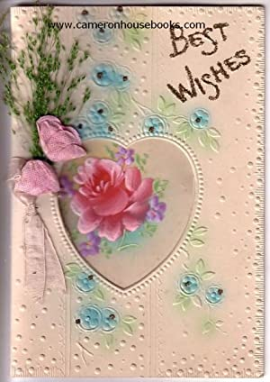 'Best Wishes' - vintage greeting card
