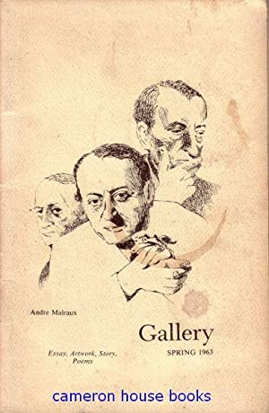 Gallery, edited by Richard Farley, Adam Staib, Roy Scheele. Volume 1 Number 1, Spring issue, April ...