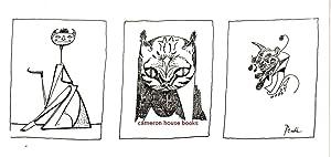 Printed Christmas card design (group of three: Peake, Mervyn