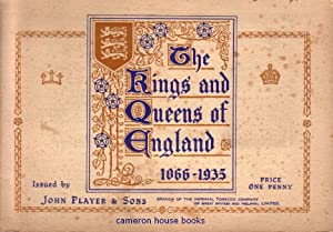 Cigarette card album: The Kings and Queens
