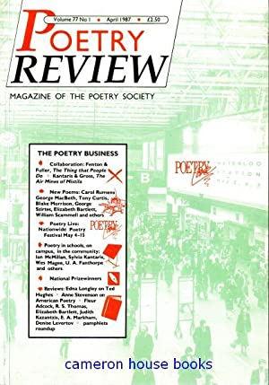 Poetry Review, edited by Peter Forbes, Vol.77