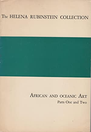 The Collection of Helena Rubinstein . African and Oceanic Art Parts One and Two.: RUBINSTEIN, ...