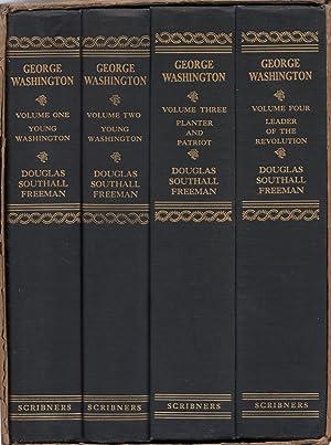 George Washington 4 Volume Set in Slipcase: Freeman, Douglas Southall
