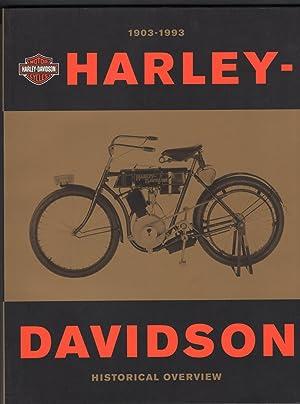 Harley-Davidson 1903-1993: Davidson, Willie, Foreword by