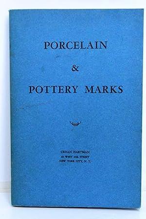 Porcelain & Pottery Marks: Hartman, Urban