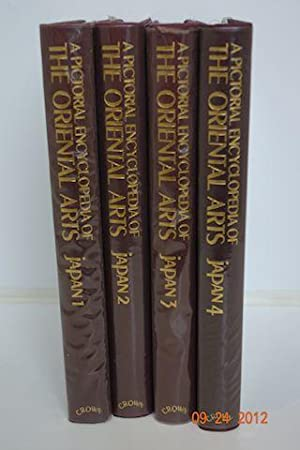 A Pictorial Encyclopedia of the Oriental Arts - Four Volume Set - JAPAN: Shoten, Kadokawa, edited ...