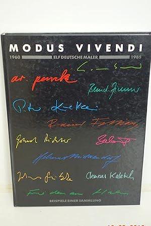 Modus Vivendi 1960 - 1985 Elf Deutsche Maler: Bockmann, Georg