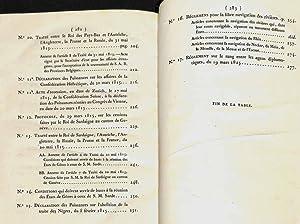Actes du Congrès de Vienne publiés d'après un des originaux déposés aux archives du département...