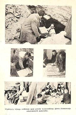 Piesn ujdzie calo , Antologia wierszy o Zydach pod okupacja niemiecka.: Borwicz, Michal edited by.