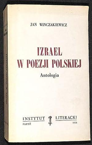 Izrael w poezji polskiej : antologia: Winczakiewicz, Jan