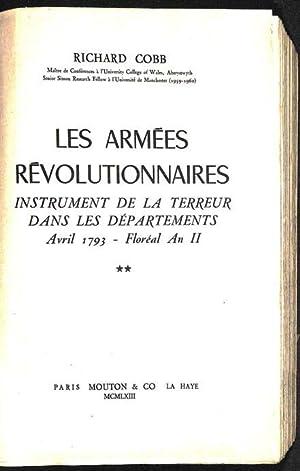 Les armées révolutionnaires : instrument de la Terreur dans les départements : avril 1793 - floréal...