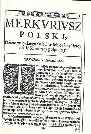 Merkvrivsz Polski,: Merkuriusz Polski, dzieje wszytkiego Swiata