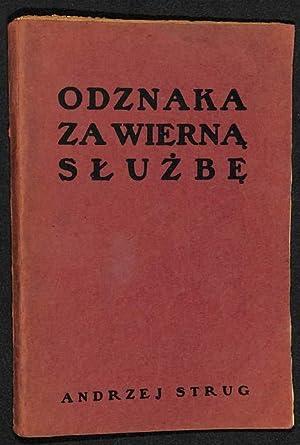 Odznaka za wierna Sluzbe: Strug, Andrzej