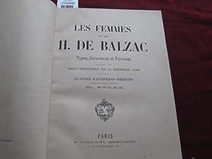 Les femmes de H. de Balzac. Types,: Balzac - Jacob